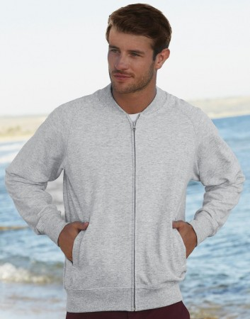 Fruit of the Loom: Lightweight Baseball Sweat Jacket 62-162-0 – Bild 1
