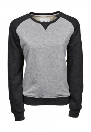 Tee Jays: Ladies Urban Two-Tone Sweat 5405 – Bild 2