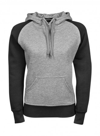 Tee Jays: Ladies Two-Tone Hooded Sweatshirt 5433 – Bild 3