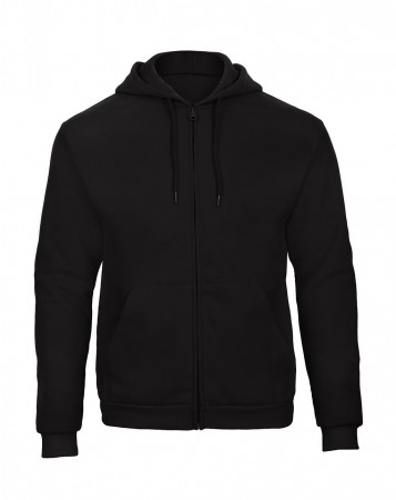 B&C: Hooded Full Zip Sweatshirt Unisex - WUI25 ID205 50/50 – Bild 2