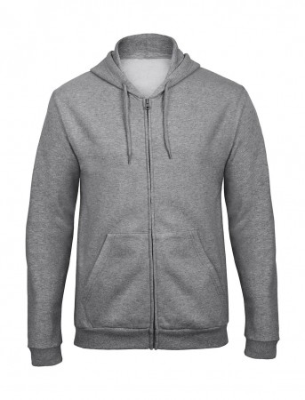 B&C: Hooded Full Zip Sweatshirt Unisex - WUI25 ID205 50/50 – Bild 3