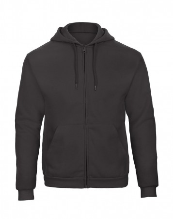 B&C: Hooded Full Zip Sweatshirt Unisex - WUI25 ID205 50/50 – Bild 4