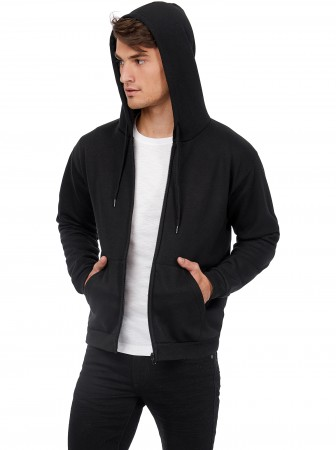B&C: Hooded Full Zip Sweatshirt Unisex - WUI25 ID205 50/50 – Bild 1