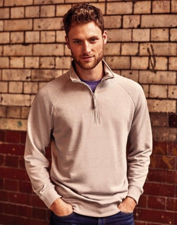 Russell Europe: Men`s HD 1/4 Zip Sweat R-282M-0 – Bild 1