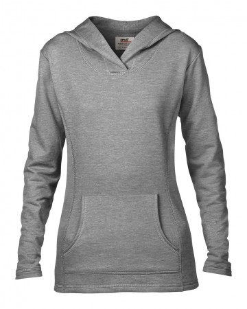Anvil: Women`s French Terry Hooded Sweat 72500L – Bild 3