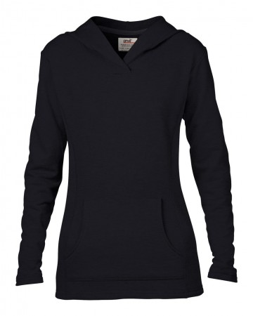 Anvil: Women`s French Terry Hooded Sweat 72500L – Bild 2
