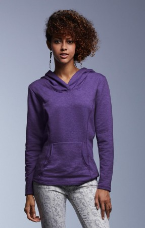 Anvil: Women`s French Terry Hooded Sweat 72500L – Bild 1