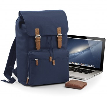 BagBase: Vintage Laptop Backpack BG613 – Bild 1