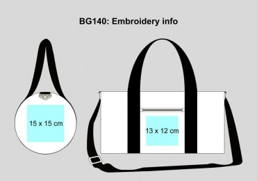 BagBase: Original Barrel Bag BG140 – Bild 12
