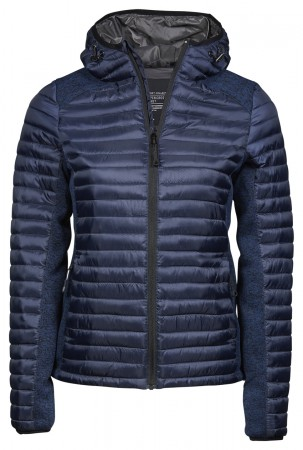 Tee Jays: Ladies Hooded Aspen Crossover Jacket 9611  – Bild 2