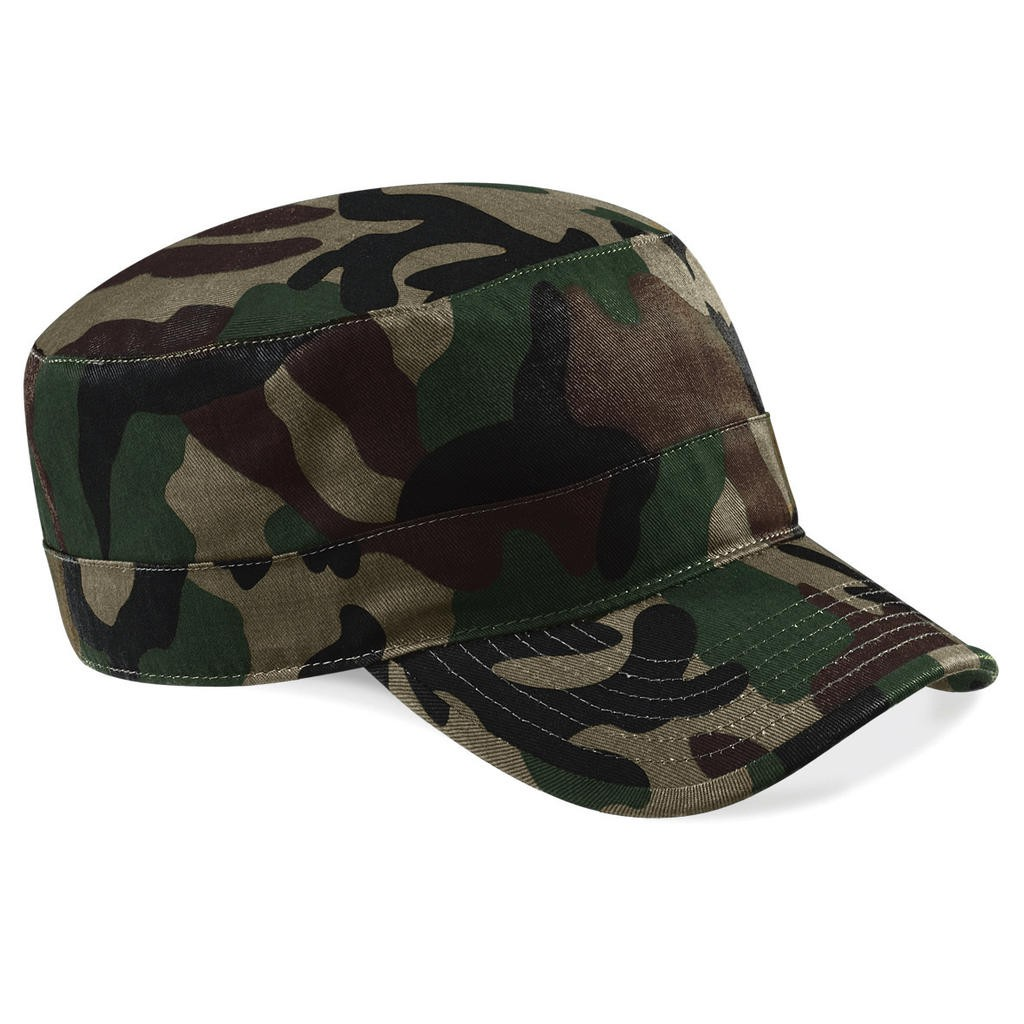 Beechfield: Camouflage Army Cap B33