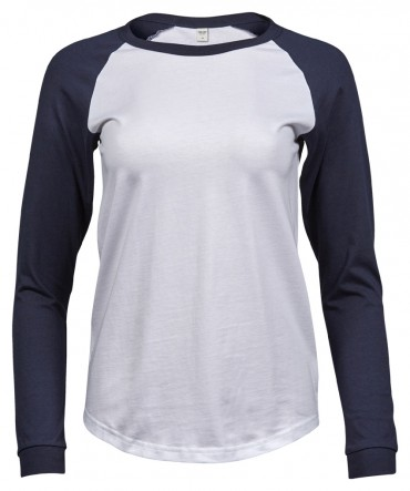 Tee Jays: Ladies Baseball Tee Long Sleeve 5073  – Bild 3