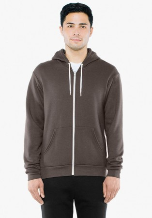 American Apparel: Unisex Flex Zip Hooded Sweat F497W  – Bild 21