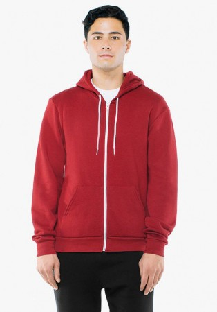 American Apparel: Unisex Flex Zip Hooded Sweat F497W  – Bild 20