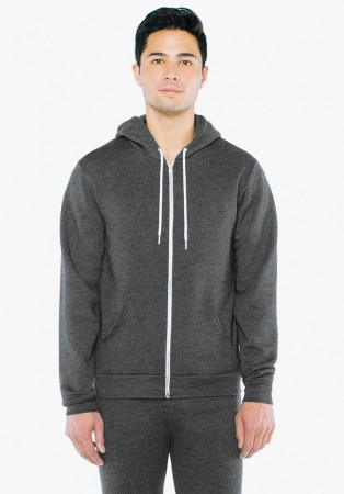 American Apparel: Unisex Flex Zip Hooded Sweat F497W  – Bild 5