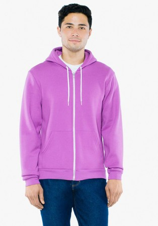 American Apparel: Unisex Flex Zip Hooded Sweat F497W  – Bild 7