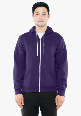 American Apparel: Unisex Flex Zip Hooded Sweat F497W  – Bild 19