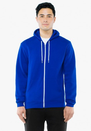 American Apparel: Unisex Flex Zip Hooded Sweat F497W  – Bild 9