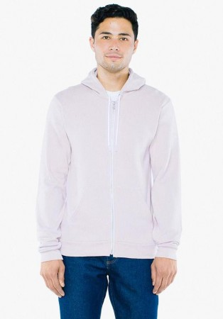 American Apparel: Unisex Flex Zip Hooded Sweat F497W  – Bild 10