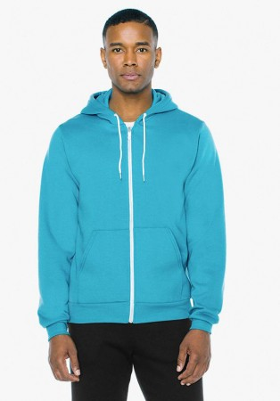 American Apparel: Unisex Flex Zip Hooded Sweat F497W  – Bild 12