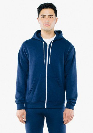 American Apparel: Unisex Flex Zip Hooded Sweat F497W  – Bild 13