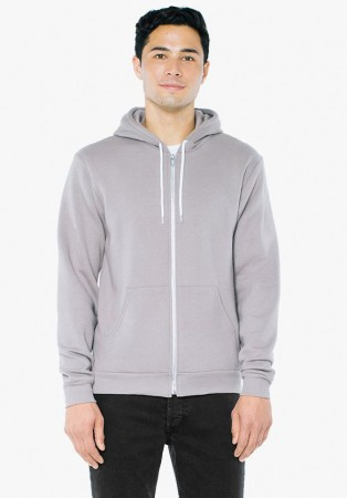 American Apparel: Unisex Flex Zip Hooded Sweat F497W  – Bild 6
