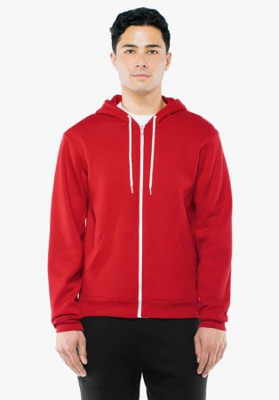 American Apparel: Unisex Flex Zip Hooded Sweat F497W  – Bild 14