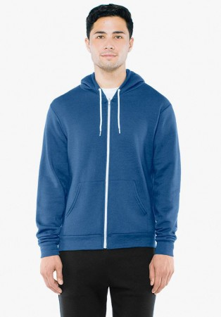 American Apparel: Unisex Flex Zip Hooded Sweat F497W  – Bild 15
