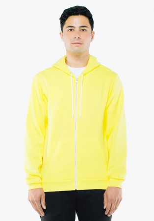 American Apparel: Unisex Flex Zip Hooded Sweat F497W  – Bild 16