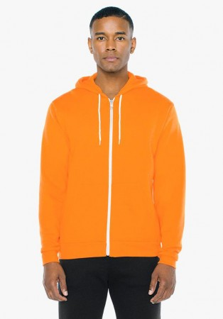 American Apparel: Unisex Flex Zip Hooded Sweat F497W  – Bild 17