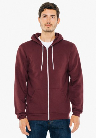 American Apparel: Unisex Flex Zip Hooded Sweat F497W  – Bild 18