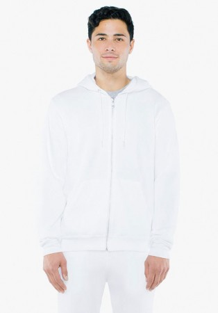 American Apparel: Unisex Flex Zip Hooded Sweat F497W  – Bild 2