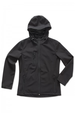 Stedman: Women`s Active Softest Shell Hooded Jacket ST5340  – Bild 2