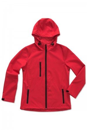 Stedman: Women`s Active Softest Shell Hooded Jacket ST5340  – Bild 3
