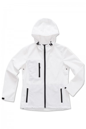 Stedman: Women`s Active Softest Shell Hooded Jacket ST5340  – Bild 4