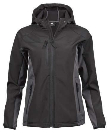 Tee Jays: Ladies Hooded Lightweight Performance Softshell 9515  – Bild 2