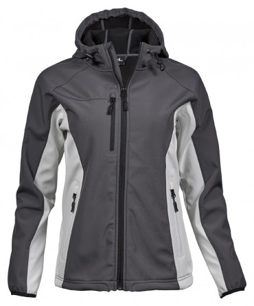 Tee Jays: Ladies Hooded Lightweight Performance Softshell 9515  – Bild 3