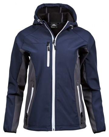 Tee Jays: Ladies Hooded Lightweight Performance Softshell 9515  – Bild 5