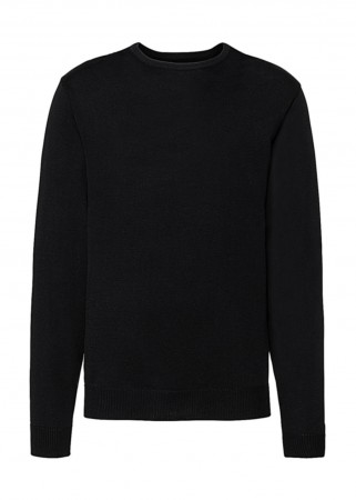 Russell Europe: Men`s Crew Neck Knitted Pullover R-717M-0  – Bild 2