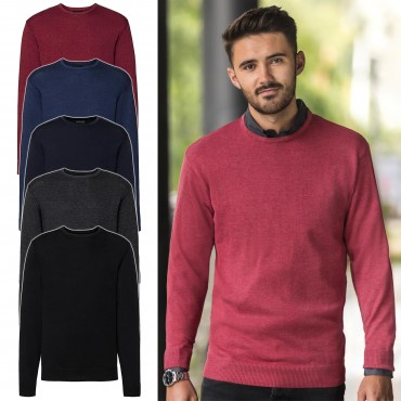 Russell Europe: Men`s Crew Neck Knitted Pullover R-717M-0  – Bild 1