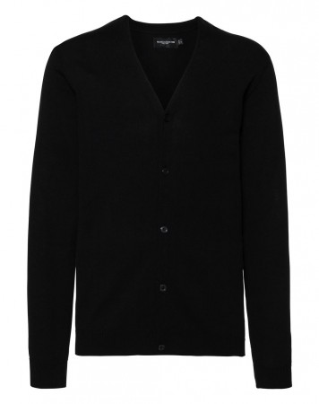 Russell Europe: Men`s V-Neck Knitted Cardigan R-715M-0  – Bild 2