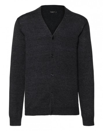 Russell Europe: Men`s V-Neck Knitted Cardigan R-715M-0  – Bild 3