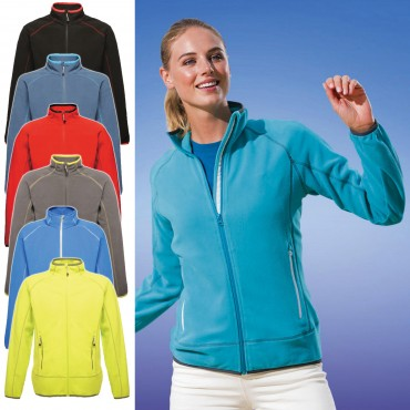Regatta: Women`s Ashmore Full Zip Fleece TRF504  – Bild 1