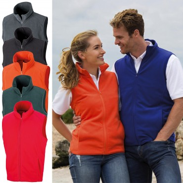 Result: Micro Fleece Gilet R116X  – Bild 1