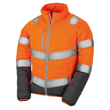 Result: Women`s Soft Padded Safety Jacket R325F  – Bild 2