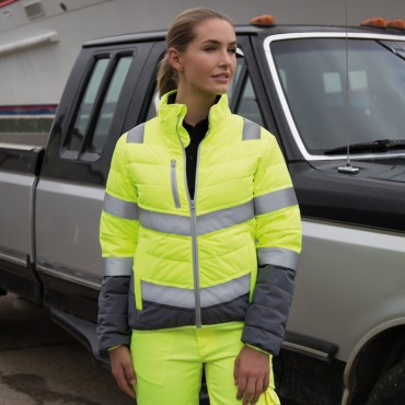 Result: Women`s Soft Padded Safety Jacket R325F  – Bild 1