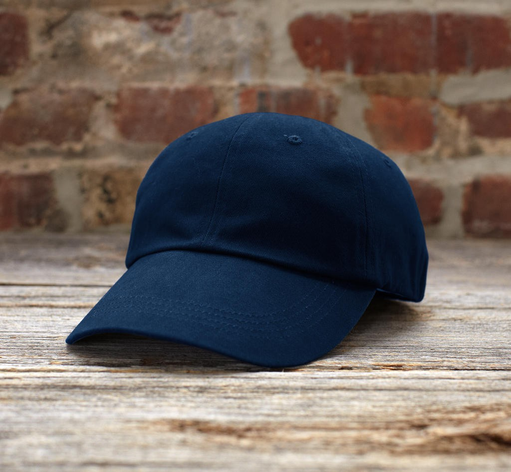 Anvil: Solid Low-Profile Brushed Twill Cap 176