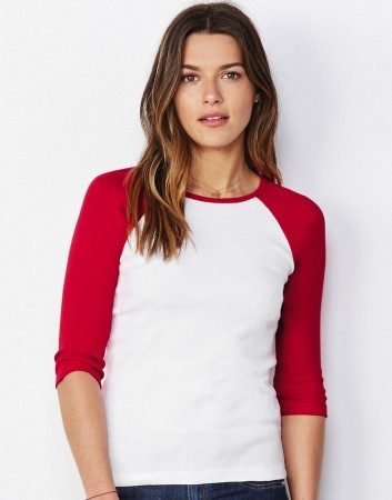 Bella+Canvas: 3/4 Sleeve Contrast Raglan T-Shirt 2000:00:00 – Bild 1