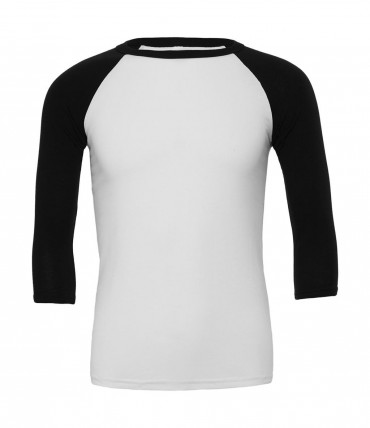 Bella+Canvas: Triblend 3/4 Sleeve Baseball T-Shirt 3200 – Bild 5