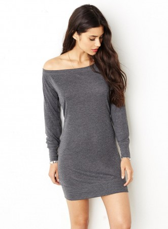 Bella+Canvas: Lightweight Sweater Dress 8822 – Bild 1